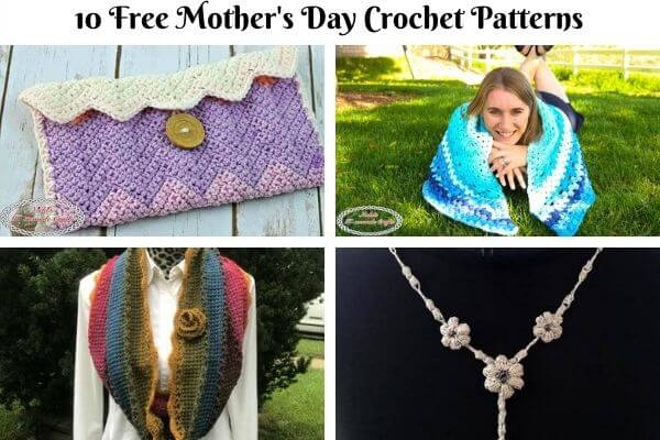 Mother's Day Crochet Pattern Collection cover