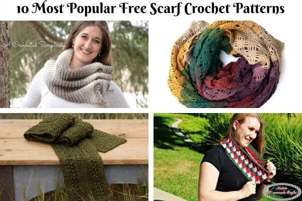 Scarf Crochet Pattern Collection Cover