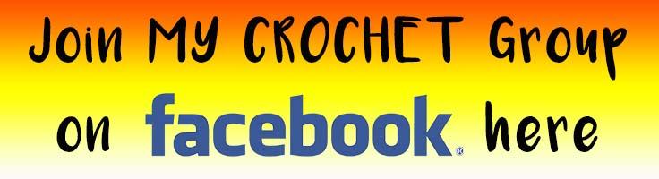 Junte-se ao grupo My Crochet do facebook do Nicki's Homemade Crafts