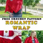 Romantic Crochet Wrap - Free Crochet pattern