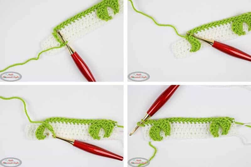 Rosebud Crochet Stitch Pattern Tutorial