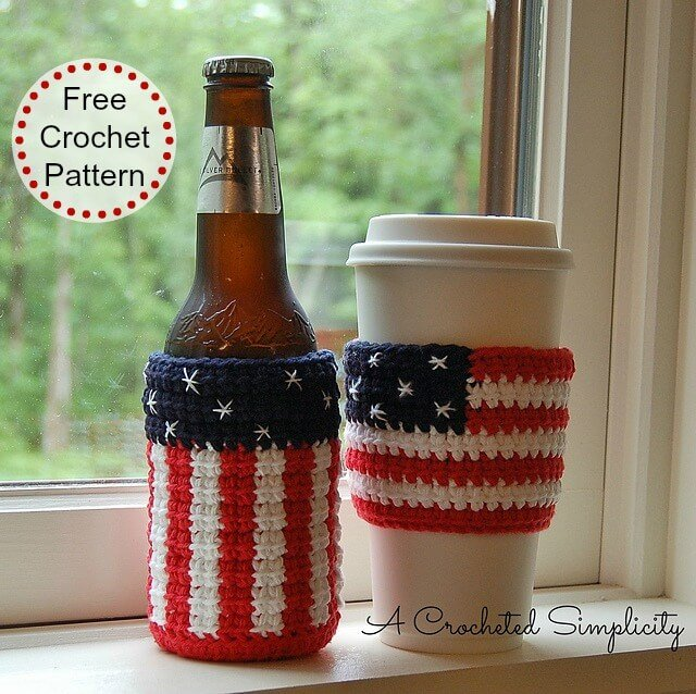 American Cozy and Coffee Sleeve