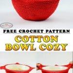 Microwave Cotton Bowl Cozy a Free Crochet Pattern