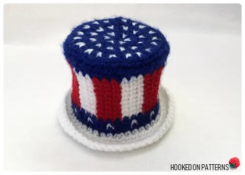 American Flag Mini Hat
