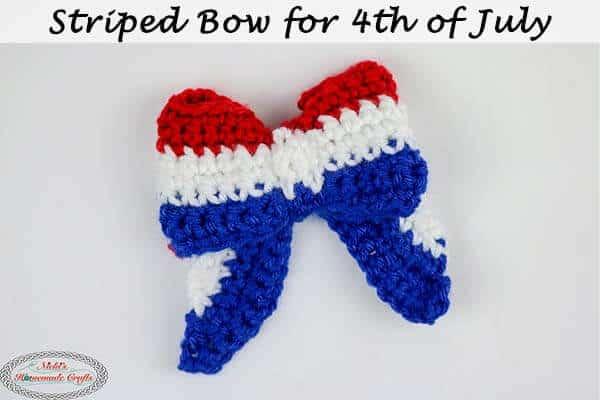 Crochet Bow Pattern