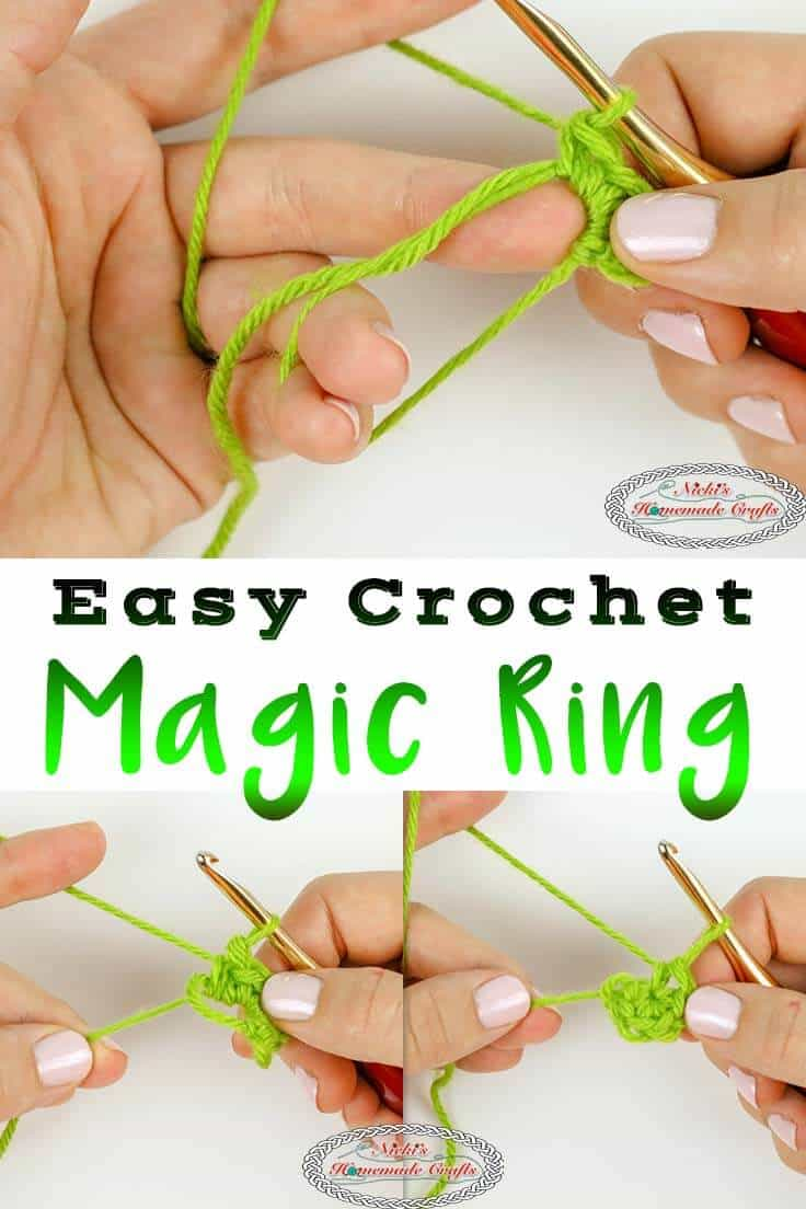 easy crochet magic ring