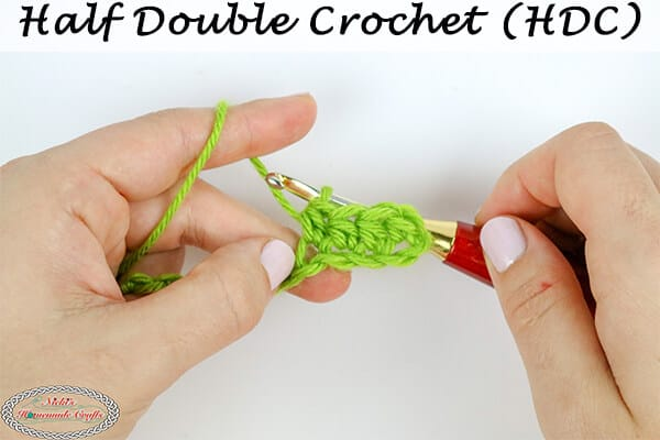 How to crochet the Half Double Crochet