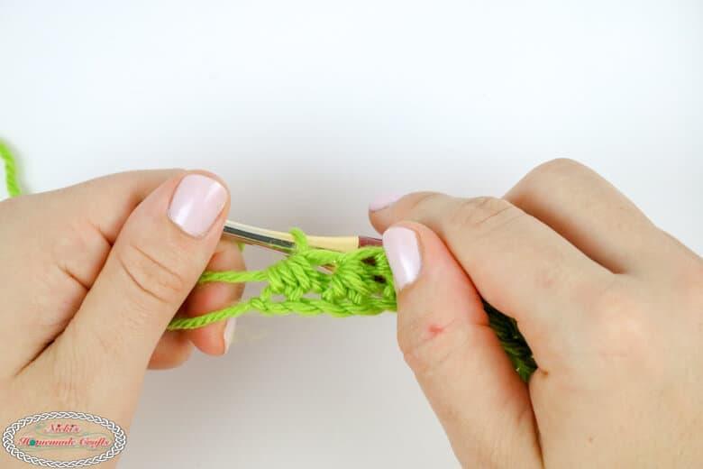 half double crochet decrease tutorial