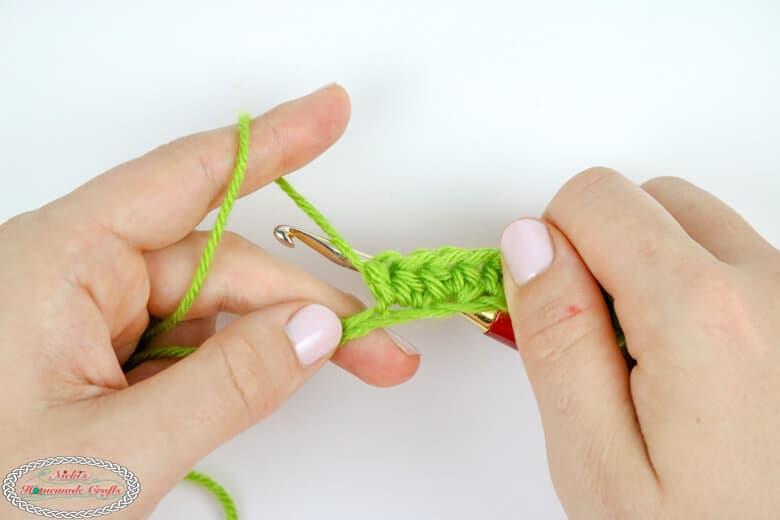 Half Double Crochet Tutorial (hdc)