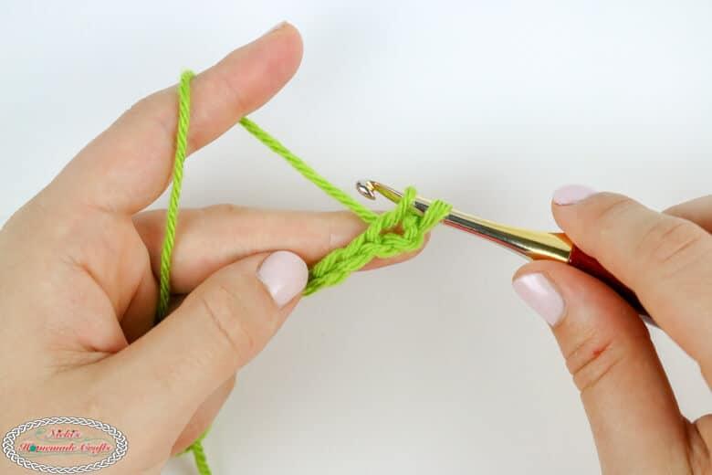 crochet a single crochet tutorial