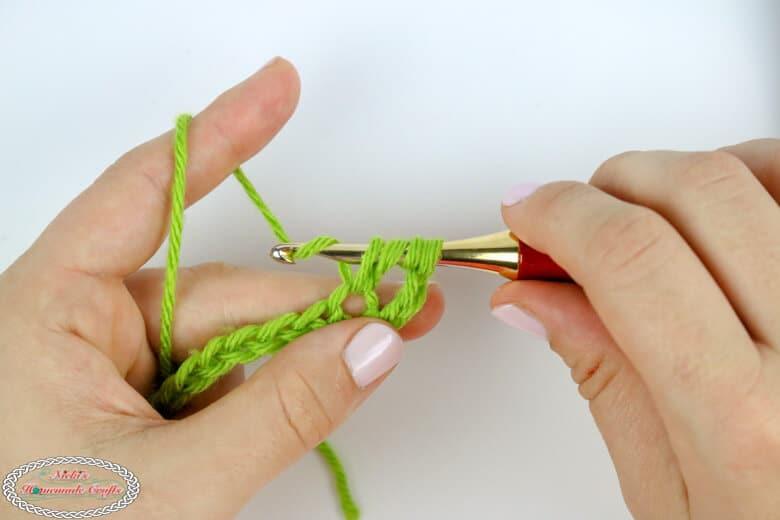 Steps to master the treble crochet