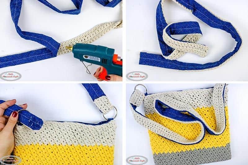 crochet bag strap instructions