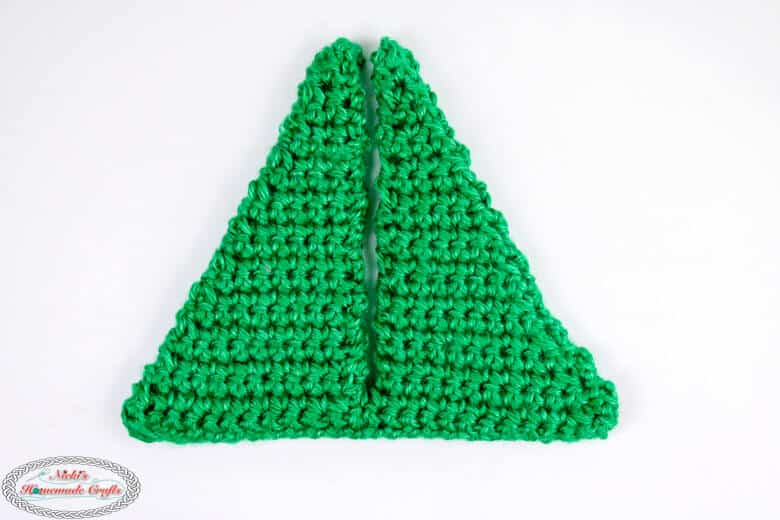 Sewed Small Christmas Tree