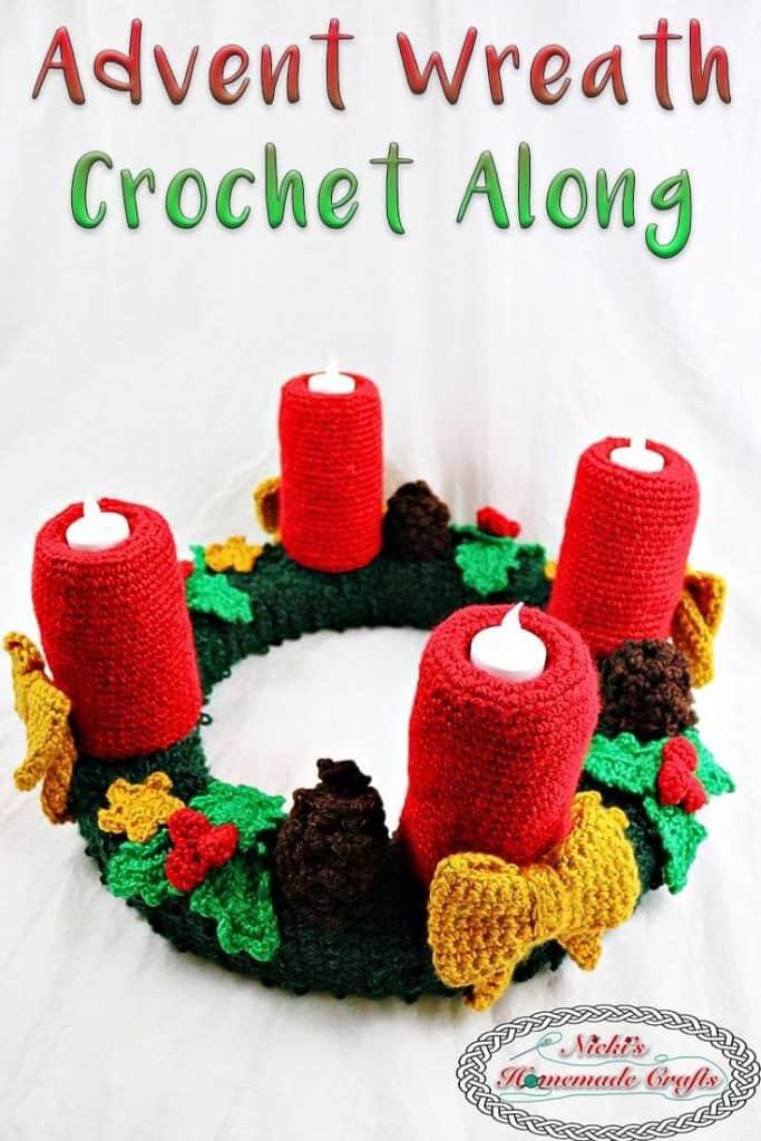 Crochet Along fr the Advent Wreath Pattern