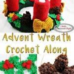 Free Crochet Along Pattern Advent Wreath
