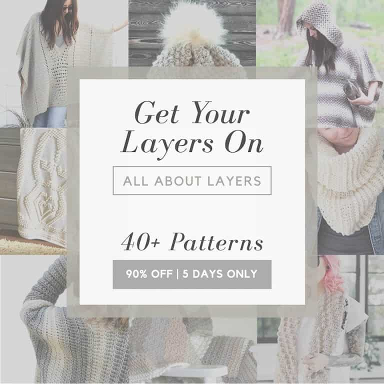 40+ Crochet Patterns in the All About Layer Bundle