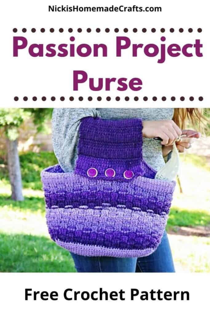 Crochet Passion Project Purse