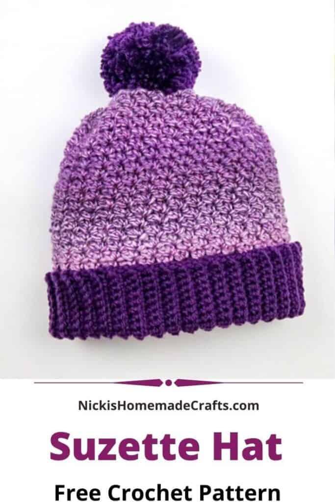 Crochet Suzette Hat