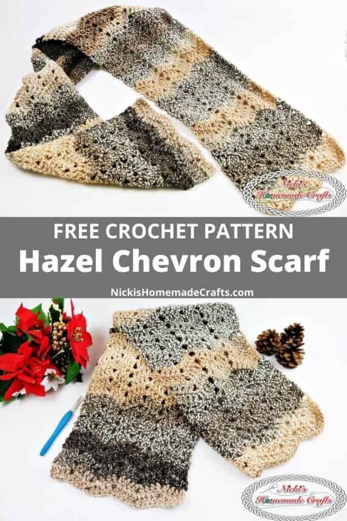 Hazel Colorway Yarn for the crochet neck accessory