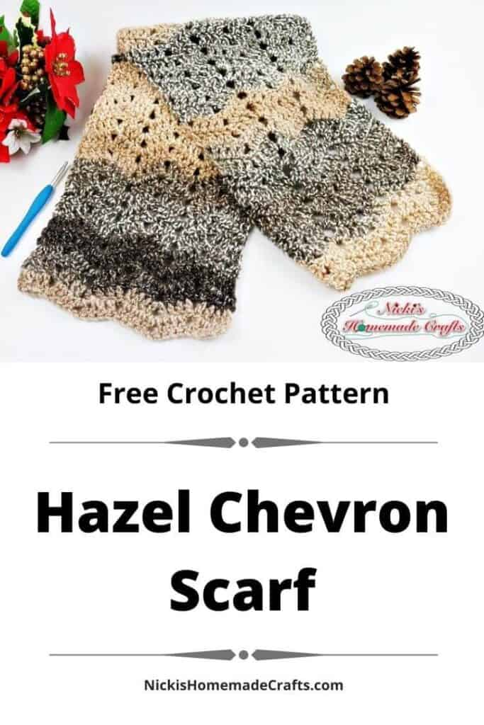 Hazel Chevron Scarf Pattern