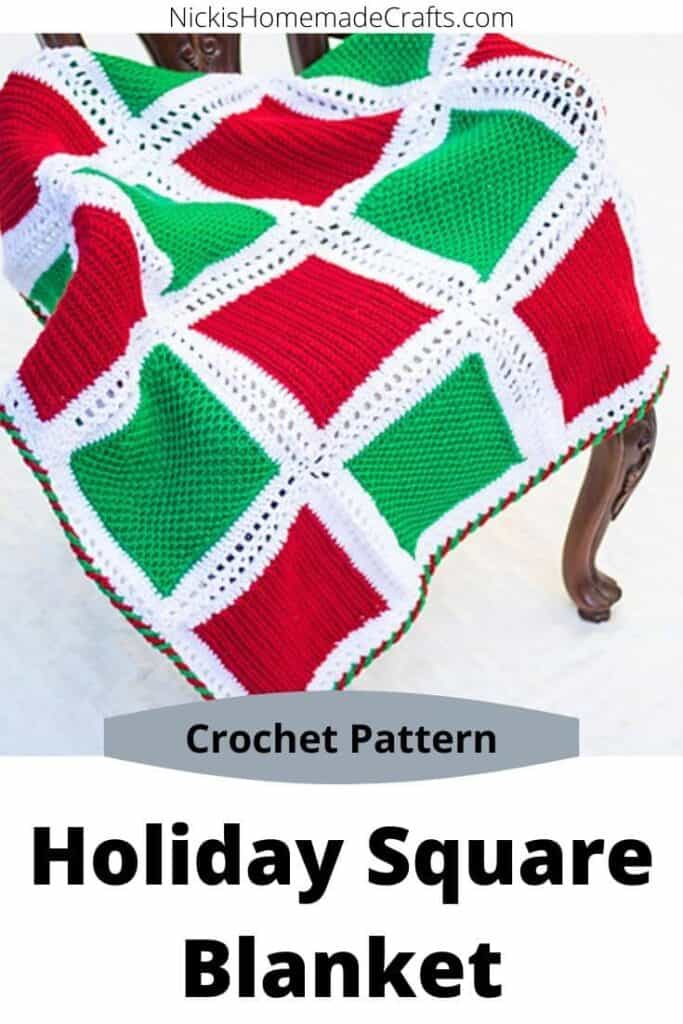 Holiday Square Blanket