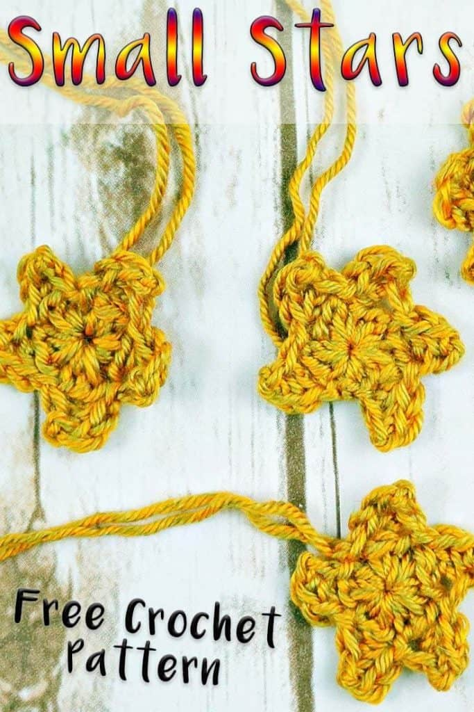 How to crochet a star in 2 minutes