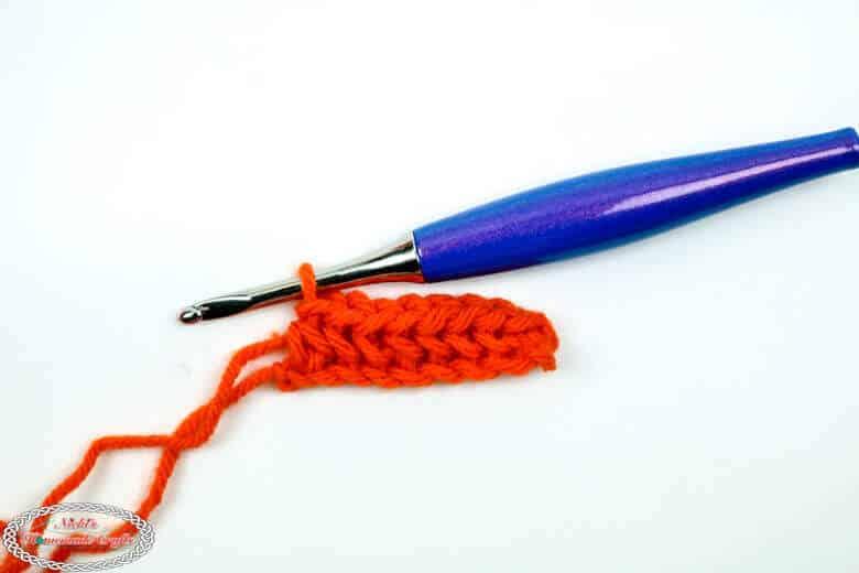 Linked Single Crochet 1 row