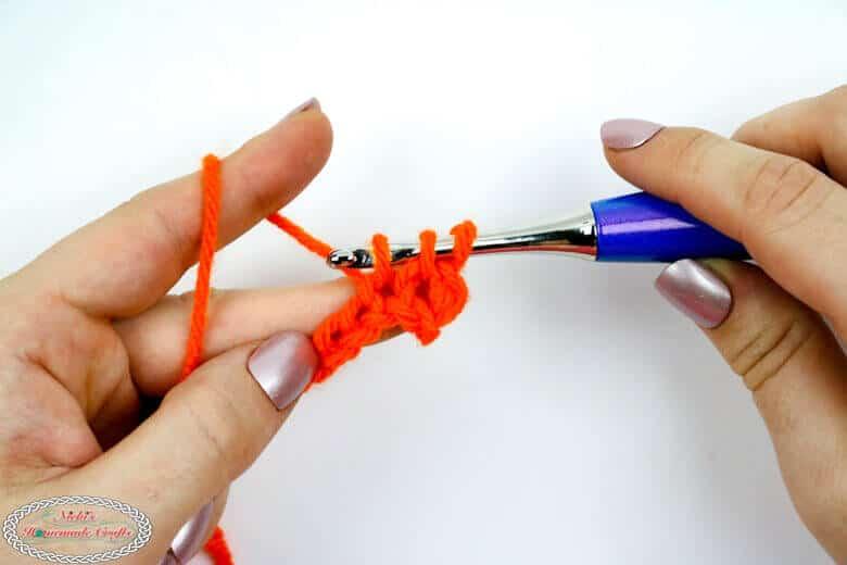 finishing 1 linked single crochet
