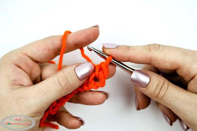 1 single crochet