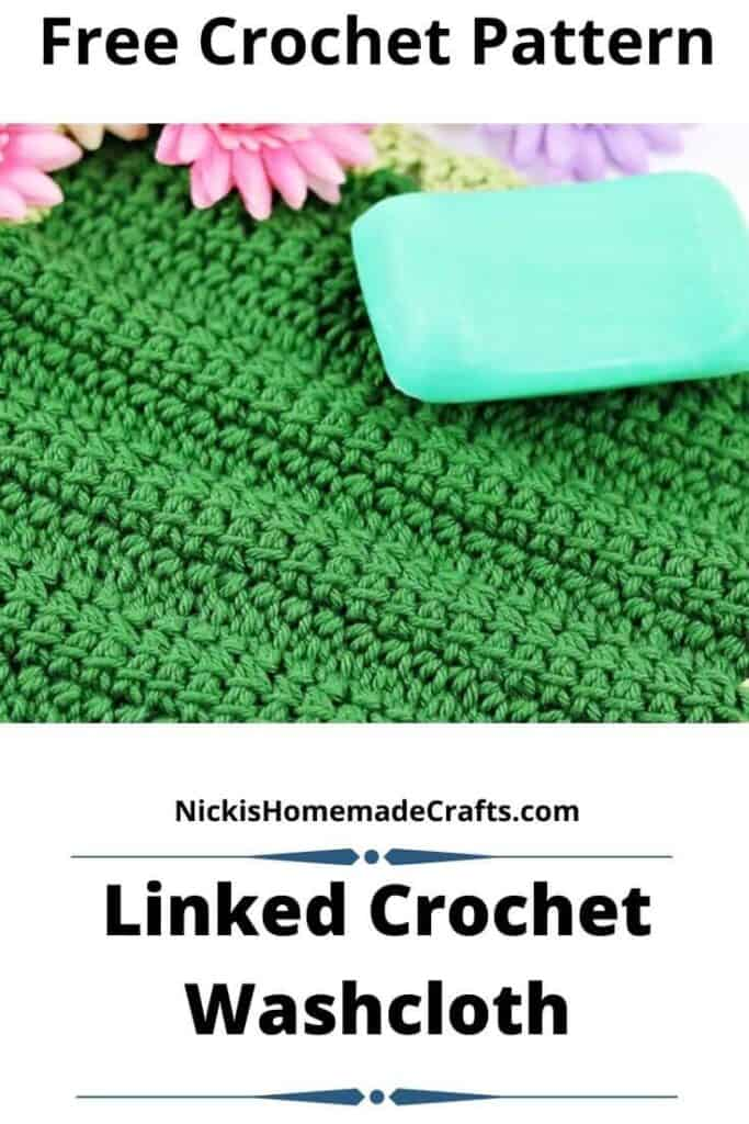Linked Crochet Washcloth Pattern