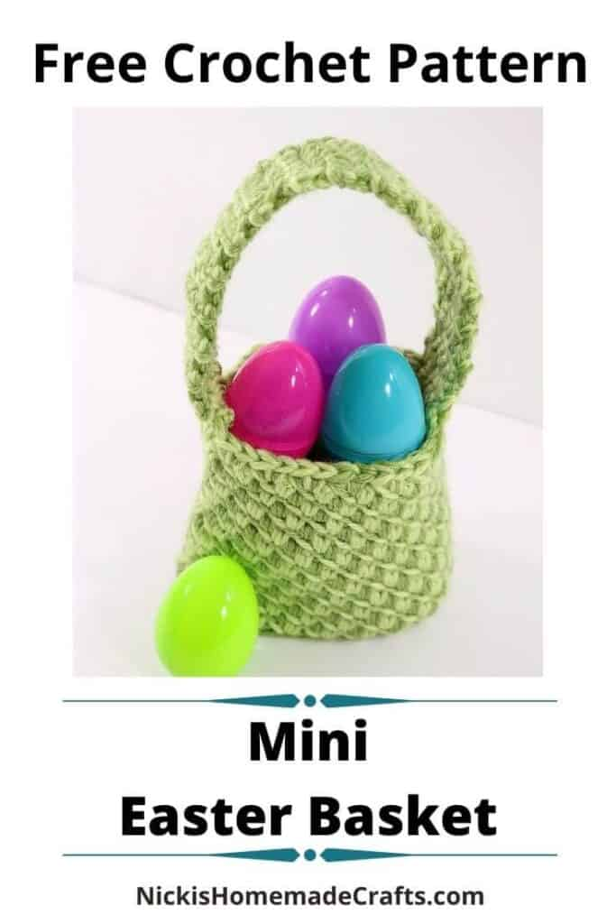 Mini Easter Basket Pattern