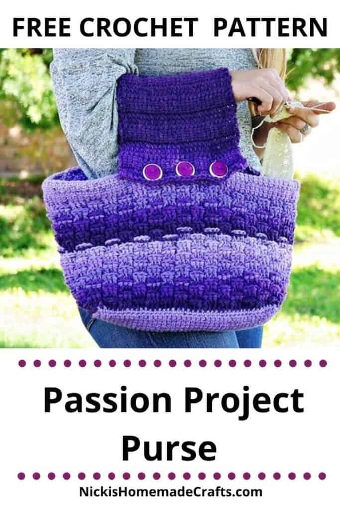 Passion Project Purse - Free Crochet Pattern