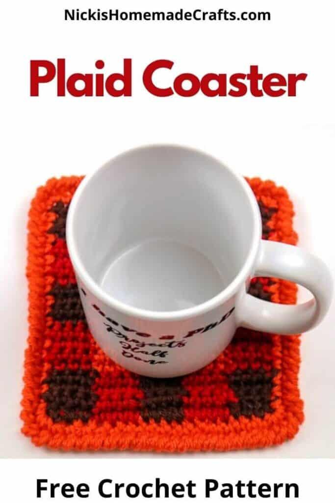 Plaid Coaster Pattern