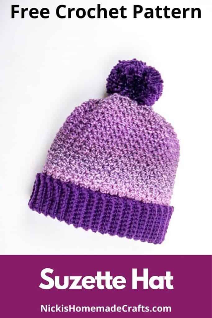 Suzette Hat - Free Crochet Pattern
