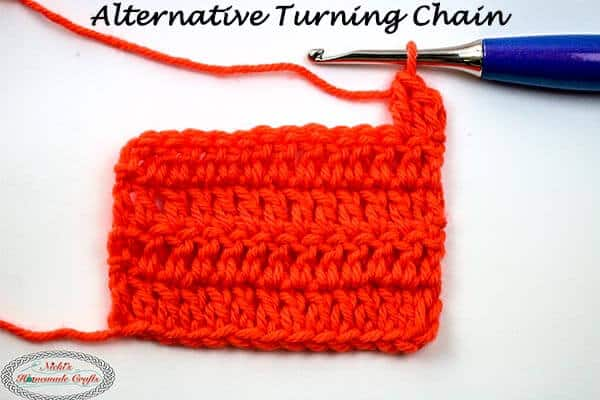Alternative Turning Chain Crochet Video Tutorial for DC, TR, DTR