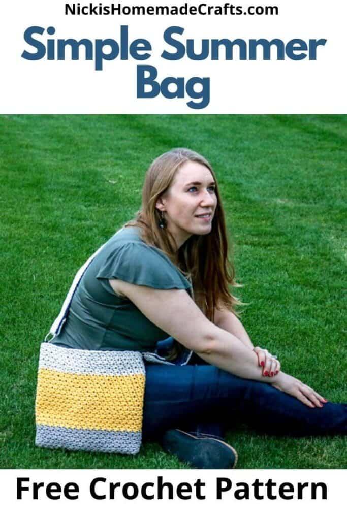 Crochet Simple Summer Bag