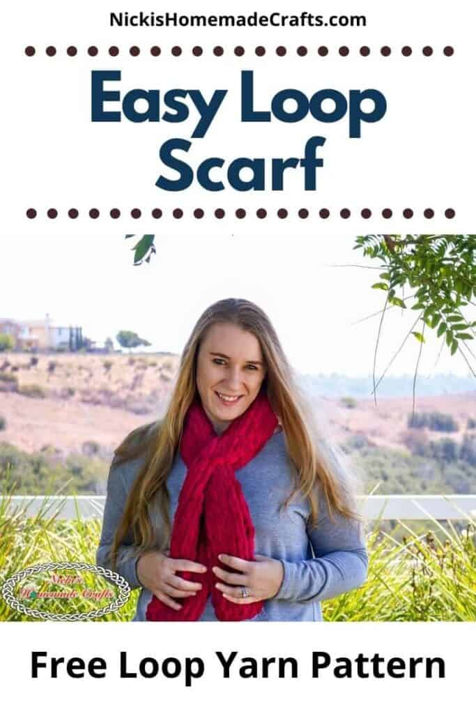 Easy Loop Scarf - Free Crochet Pattern