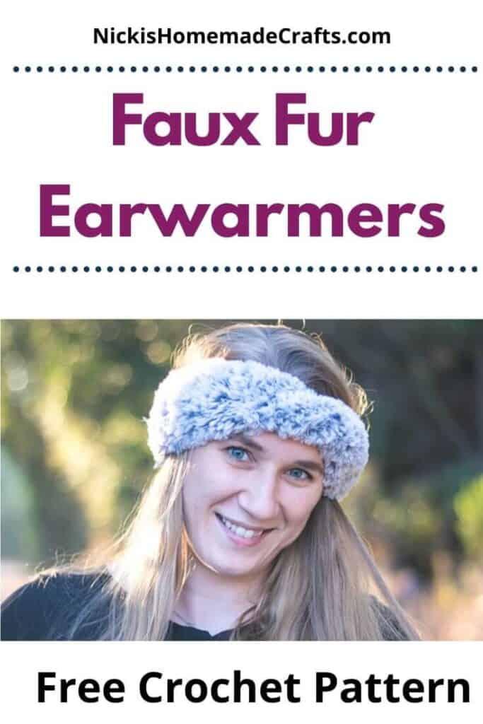 Faux Fur Earwarmers Pattern