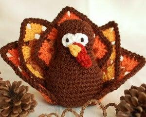 Granny Square Thanksgiving Turkey