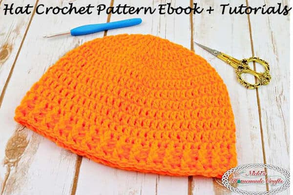 Hat Crochet Pattern Ebook plus Viral Tutorials