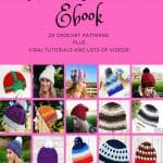 hat & Beanie Crochet Pattern Ebook plus Viral Video Tutorials