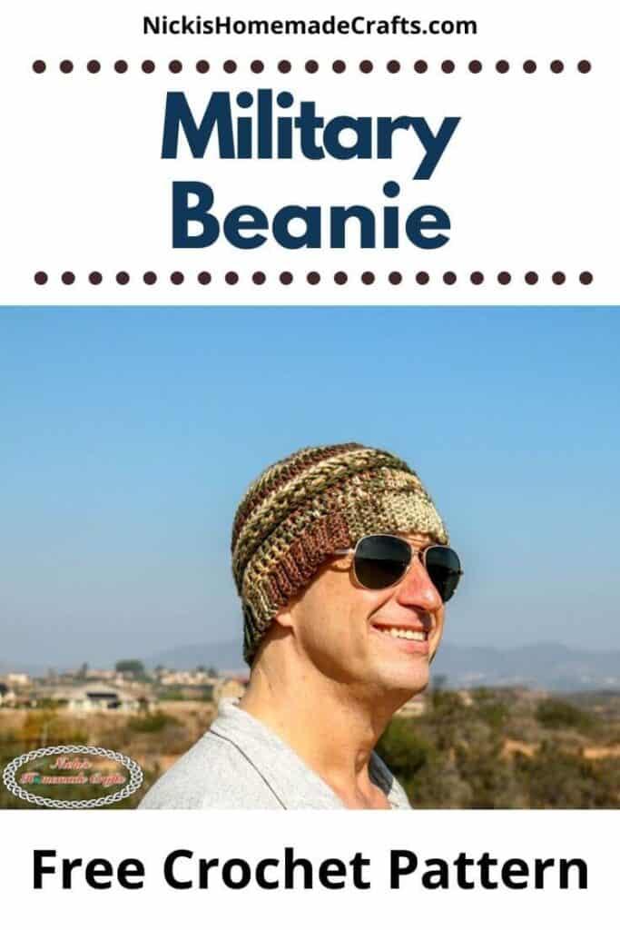 Military Beanie Pattern
