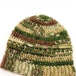 Military Beanie - Free Crochet Pattern Army colors