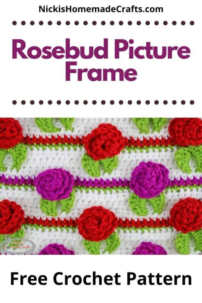 Rosebud Picture Frame Pattern