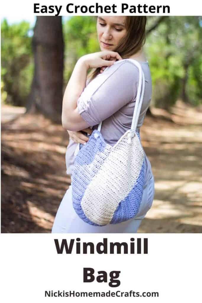 Windmill Bag - Free Crochet Pattern