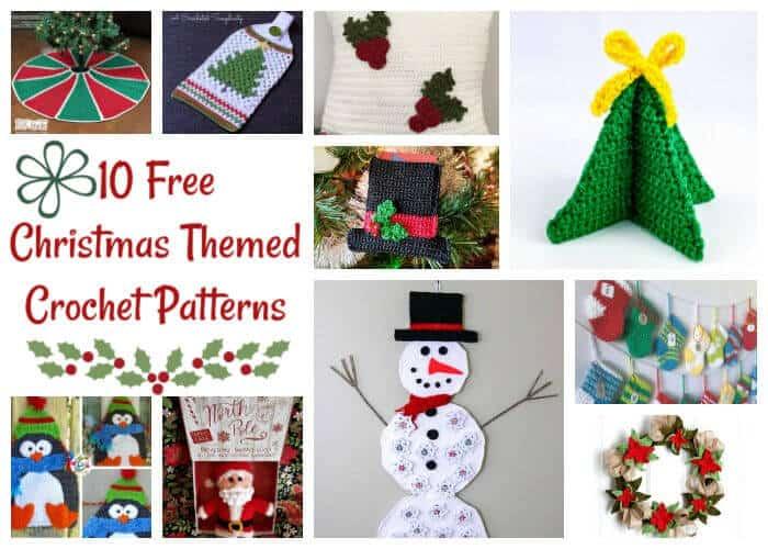 10 Free Christmas Themed Crochet Patterns