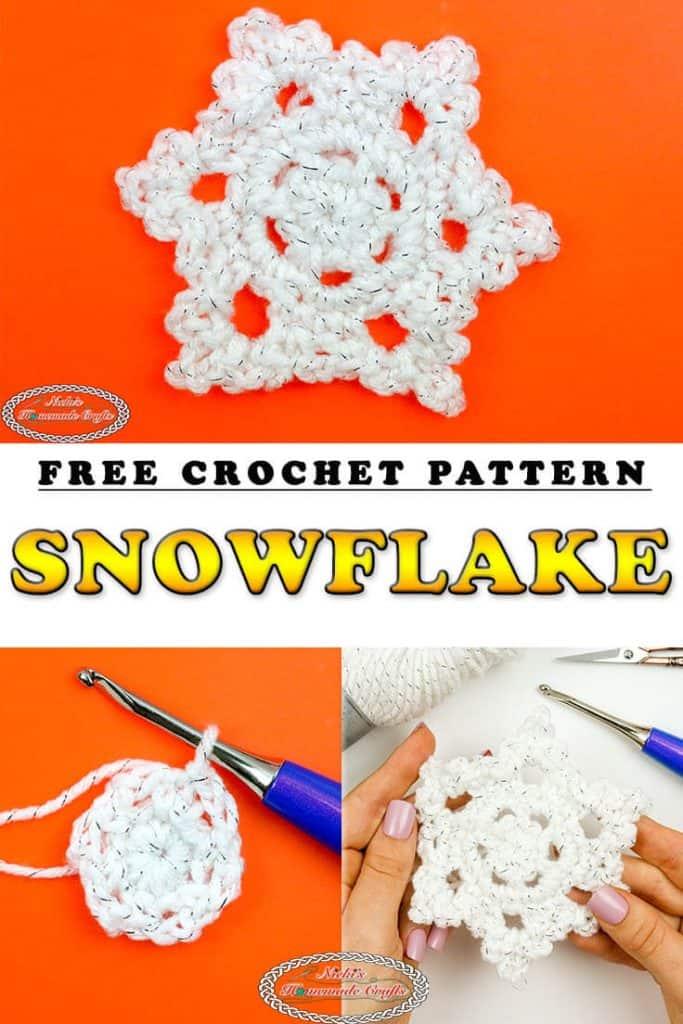 Snowflake Free Crochet Pattern