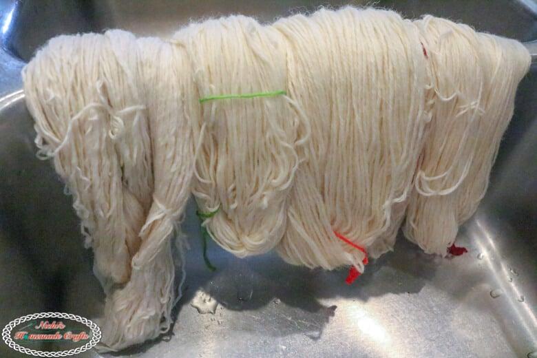 Prepared Yarn ready for dyeing