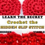 Crochet the Hidden Slip Stitch in Rounds