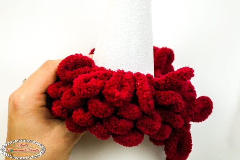 Making a Christmas tree with Loop Yarn